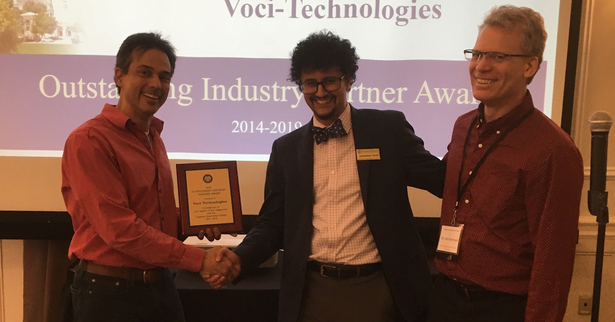 2019 Outstanding Industry Partner Award - University of Pittsburgh